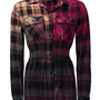 Krush Shirred Flannel Shirt - Women's Shirts/Tops | Buckle