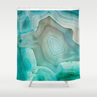 THE BEAUTY OF MINERALS 2 Shower Curtain by Catspaws