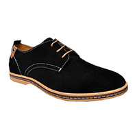 The Foxford Oxford in Black/Tan
