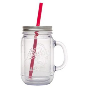 Aladdin Double-Walled Plastic Mason Jar - 20 oz