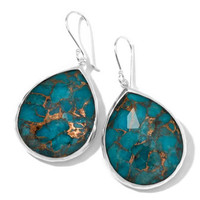 Ippolita Wonderland Turquoise Teardrop Earrings