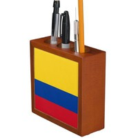 Colombian flag Desk Organizer