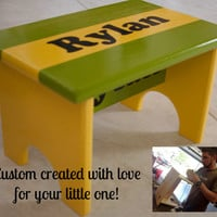 Child's Personalized Custom Step Stool