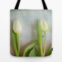 Three Tulips - JUSTART © Tote Bag by JUSTART  * Syl *