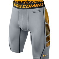Nike Men's Elite Printed Hypercool Compression 1.2 Basketball Shorts