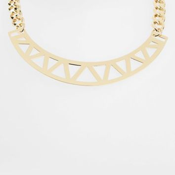 Topshop Triangle Cutout Necklace | Nordstrom