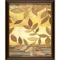 Windsor Vanguard Dancing Leaves II by Unknown - VC1418B30x40 - Canvas Art - Wall Art & Coverings - Decor