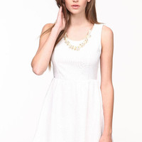 PEARL SKATER DRESS