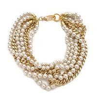 Swarovski Pearl Layered Necklace