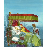Sleeping Beauty Giclee Print by Jesus Blasco at Art.com