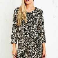 Vintage O&O Babydoll Dress in Black - Urban Outfitters
