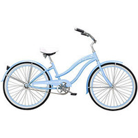Walmart.com: 26&quot; Micargi Rover GX Women&#x27;s Beach Cruiser Bike, Baby Blue: Bikes &amp; Riding Toys
