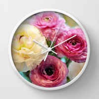 Damsels Wall Clock by Lisa Argyropoulos
