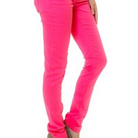 Gossip Girl Jeggings-Bubblegum