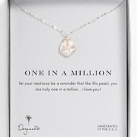 Dogeared 'One in a Million' Keshi Pearl Necklace | Nordstrom