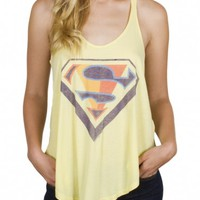 Junk Food Clothing - Superman Shield Tank