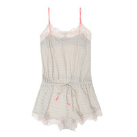 Eberjey Roxie Shelf Bra Teddy | Rompers | Journelle