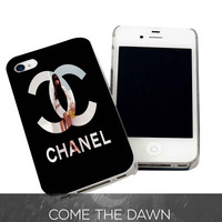 Choco Chanel Model for iPhone 4, iPhone 4s, iPhone 5 /5s/5c, Samsung Galaxy S3, Samsung Galaxy S4 Case