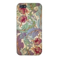 Vintage Floral Pattern Apple iPhone 5 Cover