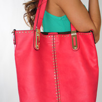 Bright And Early Purse: Raspberry | Hope's