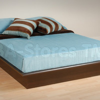 Prepac Platform Bed in Espresso | Beds EBD-5475/3