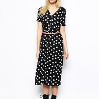 River Island Chelsea Girl Spotty Edith Dress