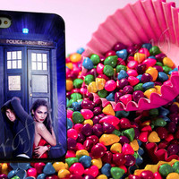 jennifer lopez and enrique iglesias tardis - for iPhone 4/4s, iPhone 5/5S/5C, Samsung S3 i9300, Samsung S4 i9500 Hard Case *rafidodolcasing*