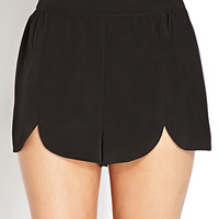 Simply Stated Scalloped Shorts | FOREVER21 - 2000073237
