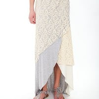 Gimmicks by BKE Raw Edge Skirt