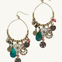 Boho Vintage Charm Earrings
