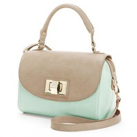 Apt. 9® Colleen Colorblock Top Handle Shoulder Bag