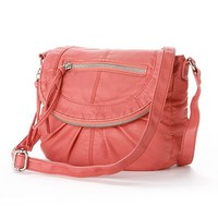 Candie's® Pleated Crossbody Bag