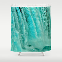 WATER POWER Shower Curtain by Catspaws