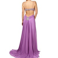 Pre-Order Lulu- Lavender Long Prom Dress