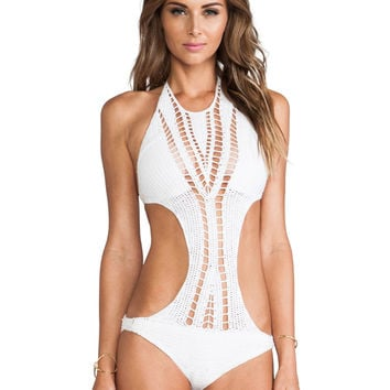 Lisa Maree The Perfect Duo One Piece in Creme Fraiche