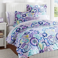 Flower Burst Duvet Cover + Sham