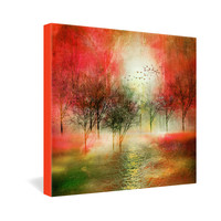 Viviana Gonzalez Paisaje Y Color III Gallery Wrapped Canvas