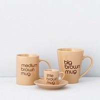 Bloomingdale's Brown Mugs