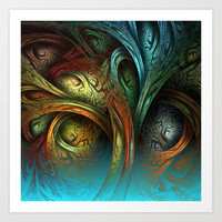 Tree of Life Art Print by Sandra Bauser Digital Art