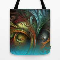 Tree of Life Tote Bag by Sandra Bauser Digital Art