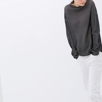 MICRO-STRUCTURED SWEATER