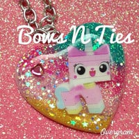 Resin pendant necklace for girls adorable