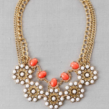 MUMBAI MULTI CHAIN STATEMENT NECKLACE