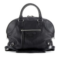CLASSIC BOWLING MINI LEATHER BAG
