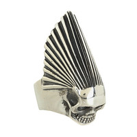 King Baby Studio Skull Chief Ring