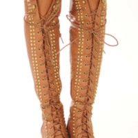 RESTOCK: Escape From The City Boots: Cognac | Hope's