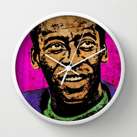 PELE Wall Clock by The Griffin Passant