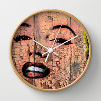 MARILYN Wall Clock by The Griffin Passant