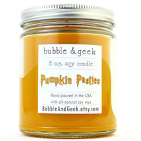 Pumpkin Pasties Scented Soy Candle - 8 oz. jar - Pumpkin Pie - Harry Potter