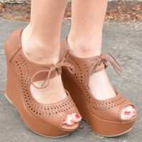 Follow The Leader Wedges: Cognac | Hope's